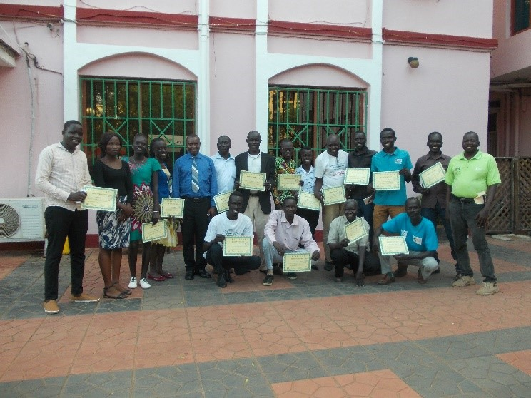 Bible Society in South Sudan trains first 15 FCBH Listening Group Leaders